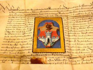 Die Marktrechtsurkunde aus 1568